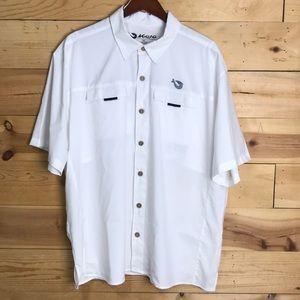NEW Mojo men's Mr Big UPF 30 fishing shirt XL